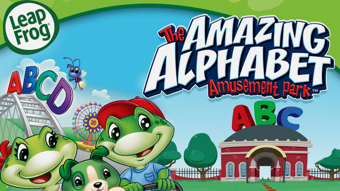 leapfrog the amazing alphabet amusement park on Netflix
