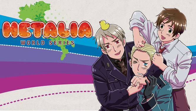 is hetalia world series available to watch on netflix in america