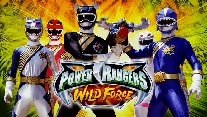 Image result for power rangers wild force