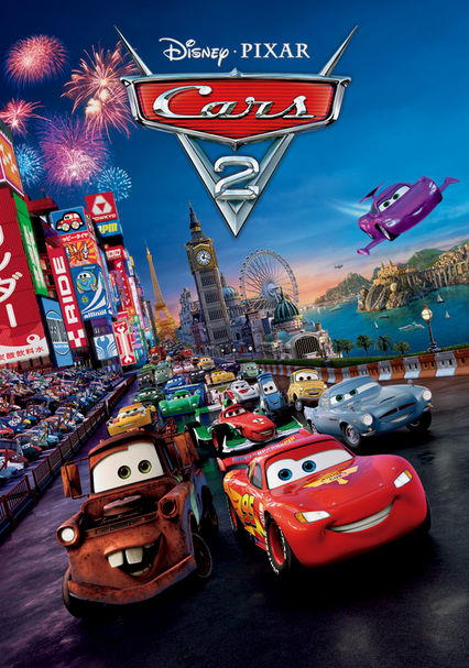 Cars 2 on Netflix UK