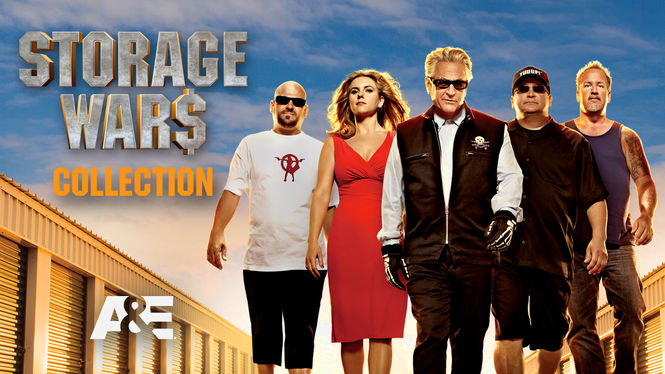 is storage wars collection available to watch on netflix in