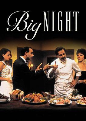 Risultati immagini per BIG NIGHT ( 1996 ) POSTER