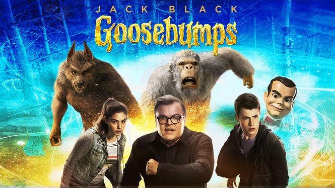 Goosebumps on Netflix Canada