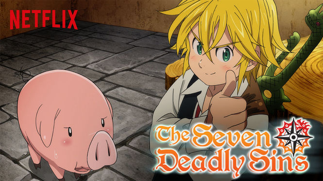 Seven Deadly Sins on Netflix USA