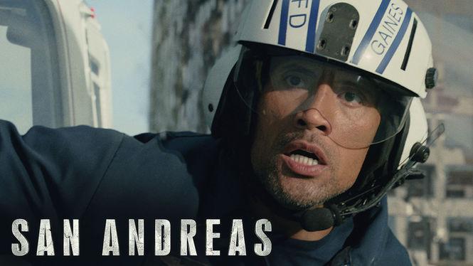 San Andreas on Netflix Canada
