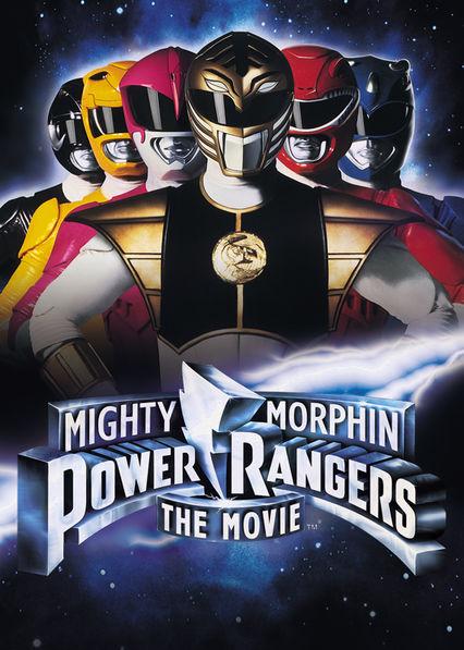 Mighty Morphin Power Rangers: The Movie on Netflix UK