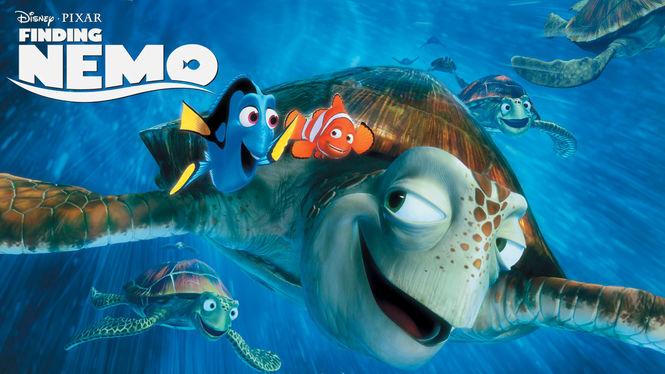 Finding Nemo on Netflix AUS/NZ