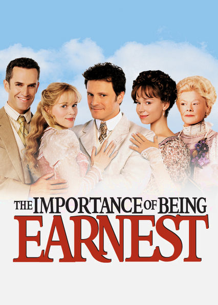 Is 'The Importance of Being Earnest' available to watch on Netflix