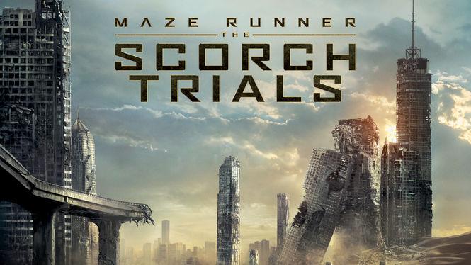 Maze Runner: The Scorch Trials on Netflix UK