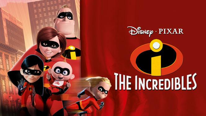 The Incredibles on Netflix AUS/NZ