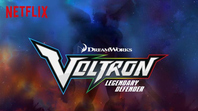 Voltron: Legendary Defender on Netflix Canada