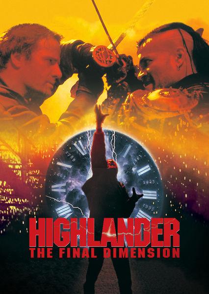 Highlander 3: The Final Dimension on Netflix USA